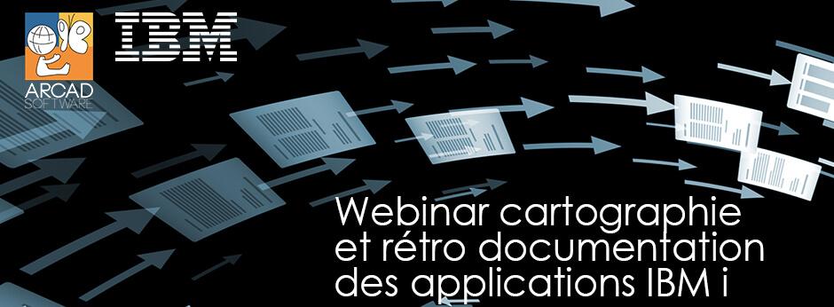 Banner Webinar ARCAD cartographie documentation app IBM i