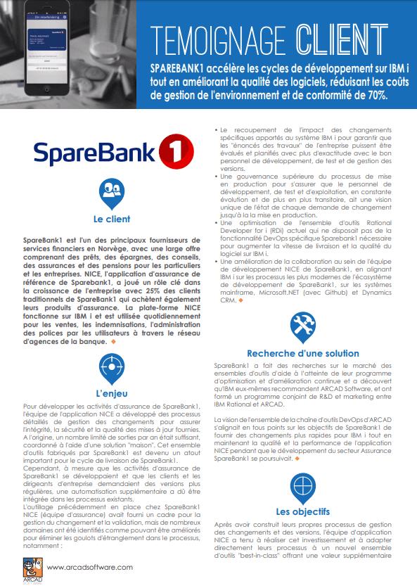 Etude de cas SpareBank1