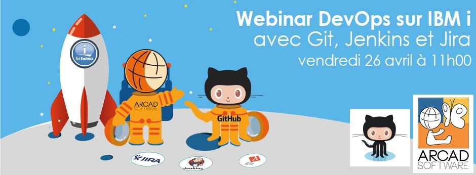 Webinar DevOps sur IBM i avec Git, Jenkins et Jira