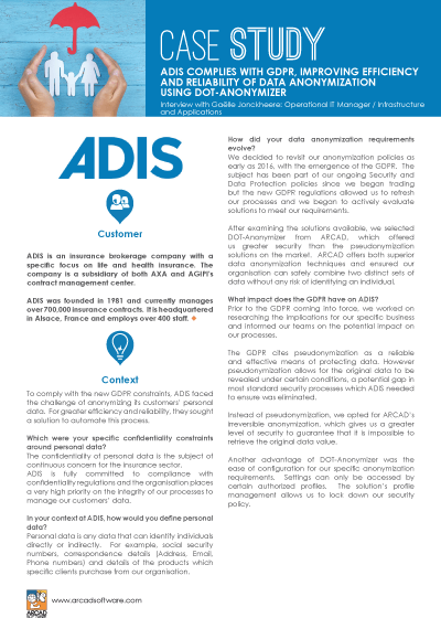 ADIS Success Story