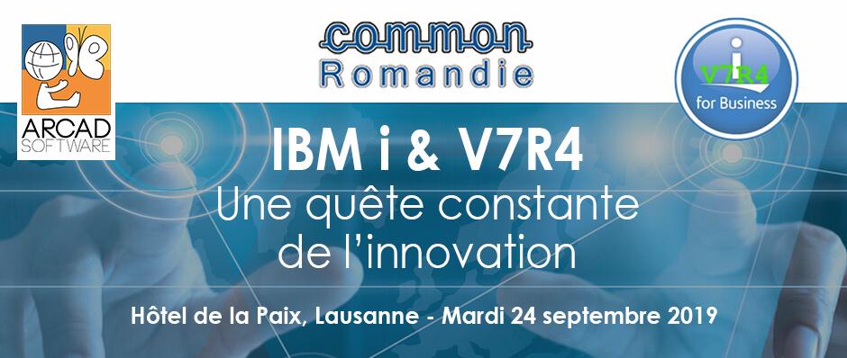 Bannière Common Romandie 2019