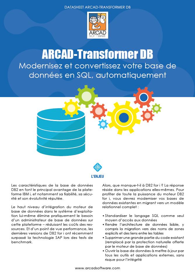 Arcad transformer DB