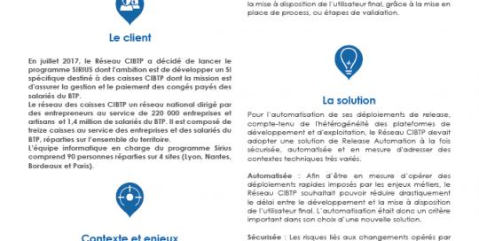 Témoignage client CIBTP