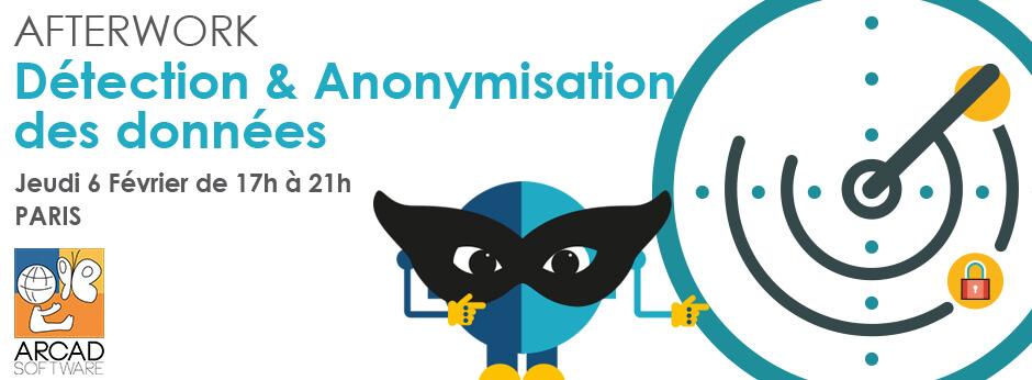 afterwork detection et anonymisation des données