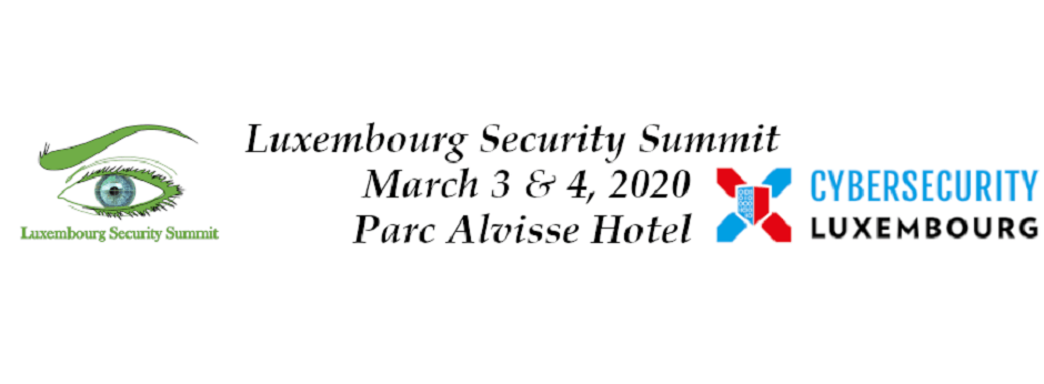 Bannière Luxembourg Security Summit website