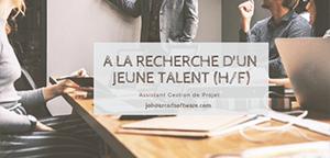 Alternant – Assistant gestion de projet